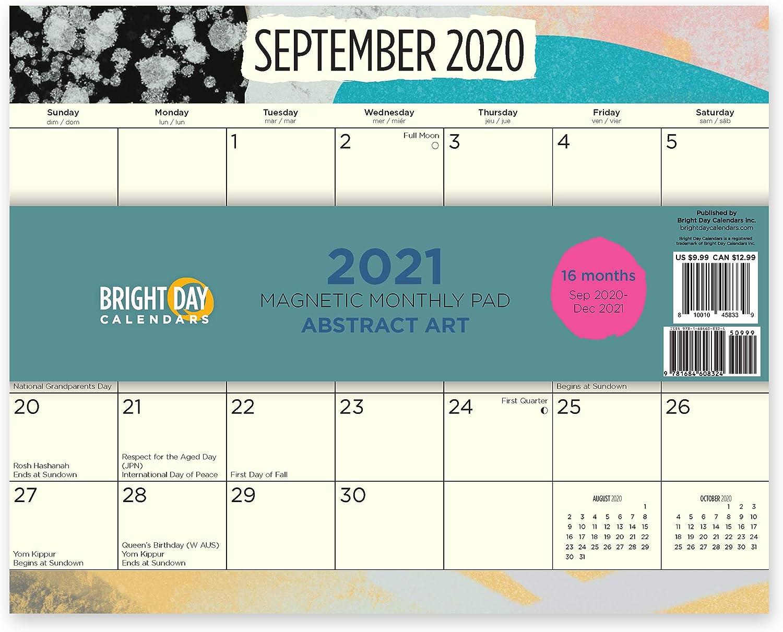 2021 Magnetic Refrigerator Calendar Photos