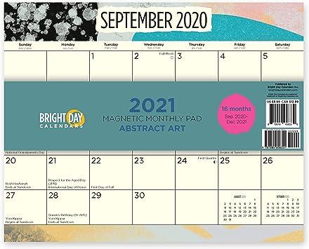 2021 Magnetic Refrigerator Calendar Wallpaper
