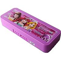 AneriDEALS 01 Blue Color Avengers Art Plastic Pencil Box (Set of 4, Multi-Color) (Pink (Barbie))
