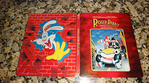 Amazon.com: Who Framed Roger Rabbit? (Limited Edition) [Blu-ray ...