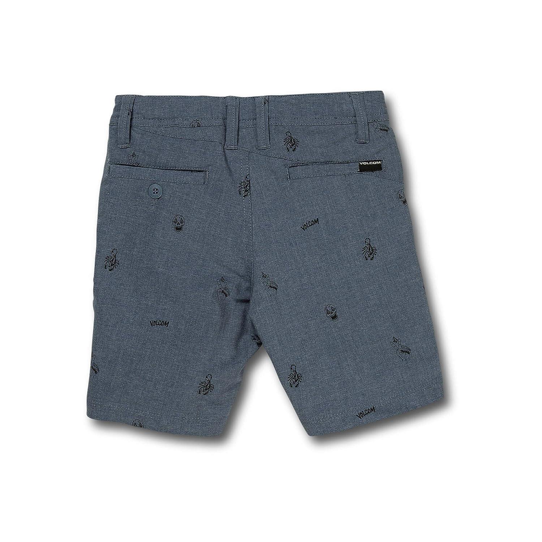 Volcom Little Boys Frickin SNT Printed 13.5 Modern Fit Hybrid Short