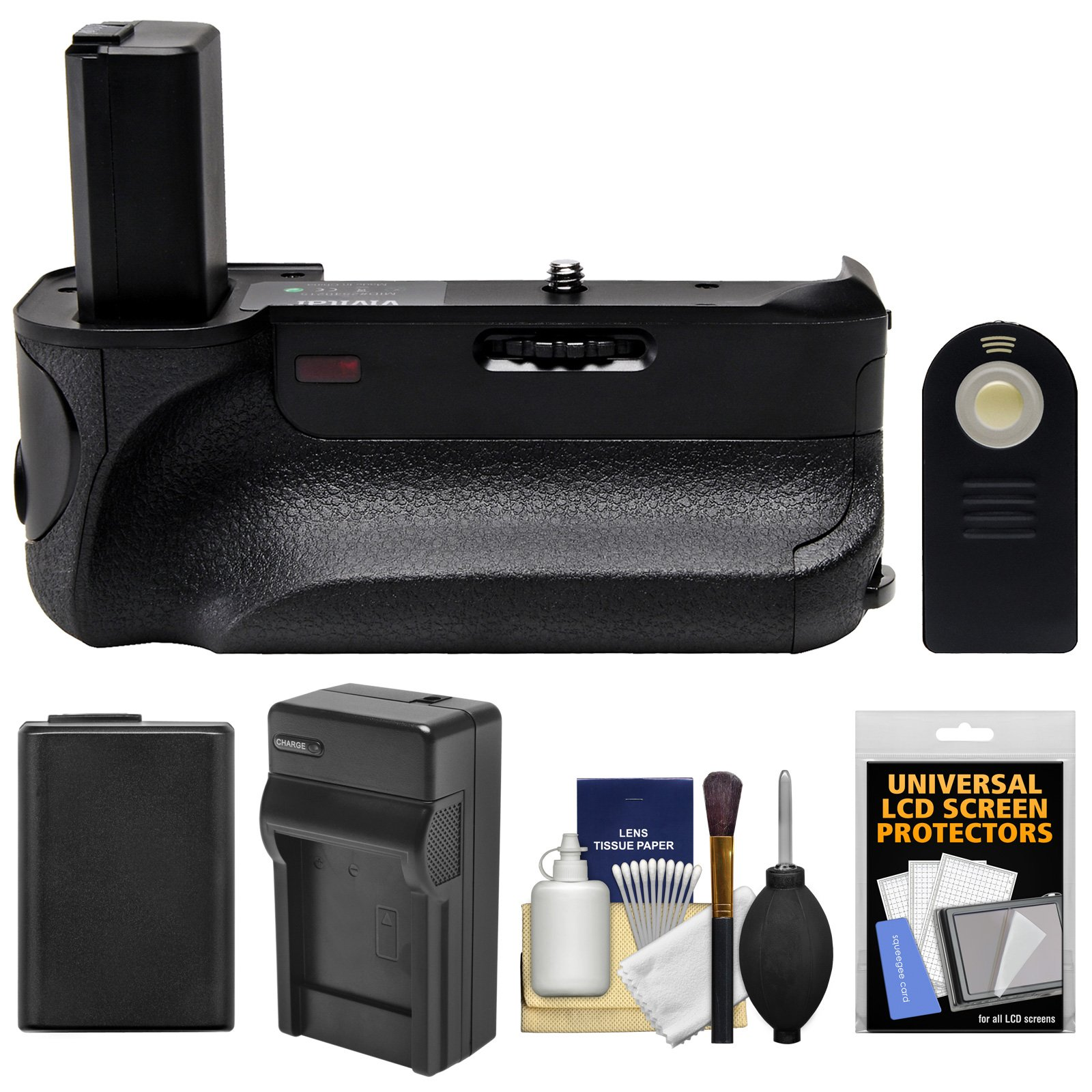 گرفتن باتری Vivitar Deluxe Power Sony برای Sony Alpha A6300