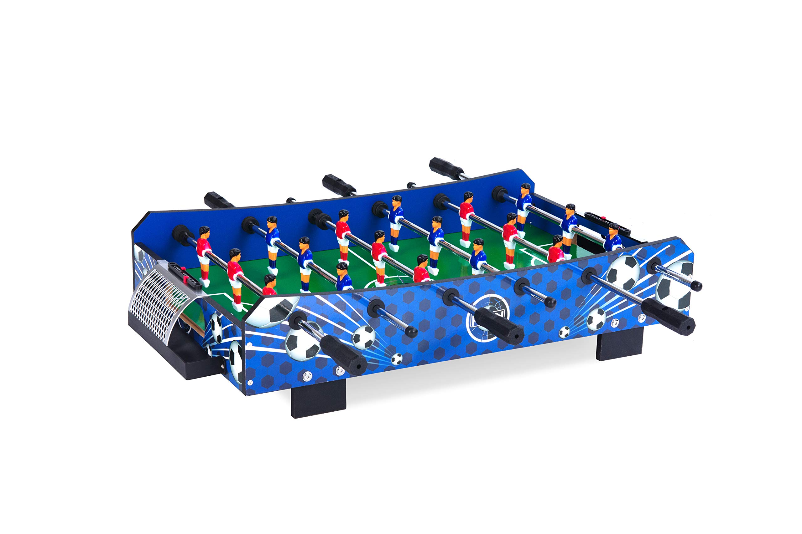 KICK Squire 33'' in Compact Mini Tabletop Foosball Table by KICK