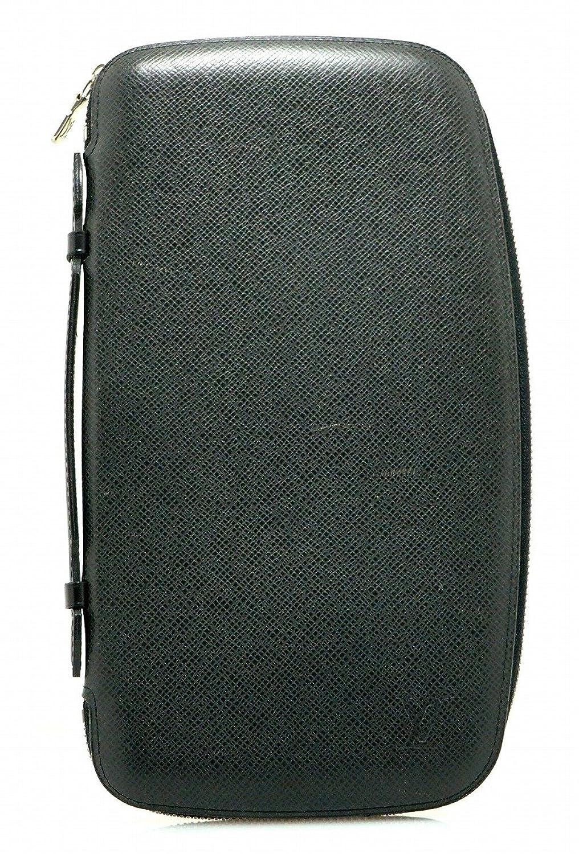 [ルイ ヴィトン] LOUIS VUITTON タイガ オーガナイザー アトール トラベルケース セカンドバッグ レザー アルドワーズ 黒 ブラック M30652 B0794R7V8T