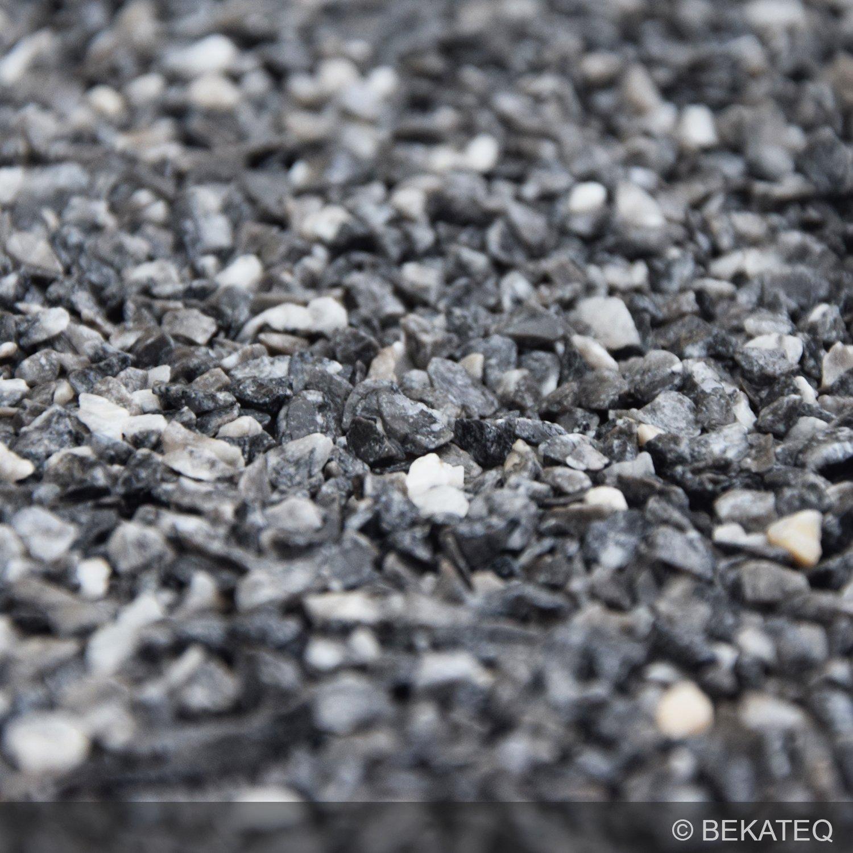 Grigio Carnico 25kg gewaschen rundgerieben 3-5mm BEKATEQ BK-590 Marmorkies Naturstein Steinteppich