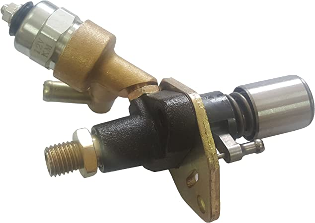 Notonmek Diesel Fuel Injector Pump 186 186F Without Solenoid for 10HP Yanmar Engine L100AE-DE L100AE-SE L100EE L100