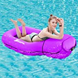 SEGOAL Pool Floats Inflatable Floating Lounger Chair Water Hammock Raft Swimming Ring Pool Toy for Adults & Kids, Lightweight