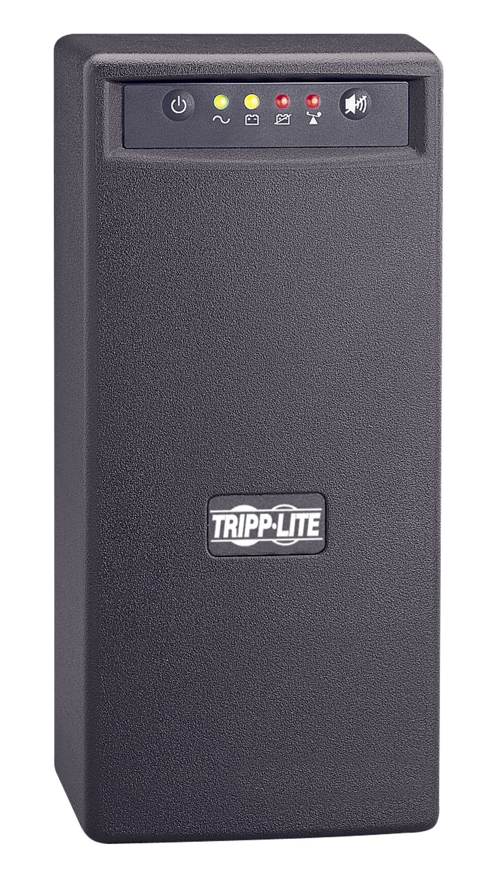 Tripp Lite SMART750USB 750VA 450W UPS Battery Back Up Tower AVR 120V USB RJ45, 6 Outlets by Tripp Lite