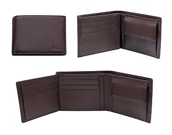 Alankara RFID Cartera de Bloqueo para Hombres - Genuina Cartera de Cuero con Protección RFID para Sus Tarjetas de Crédito/Débito - Cartera de Bloqueo RFID ...