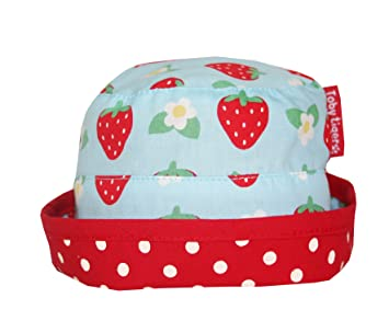Toby Tiger Strawberry Reversible Sun Hat (3-6 mths)  Amazon.co.uk  Baby 4a09026299b5