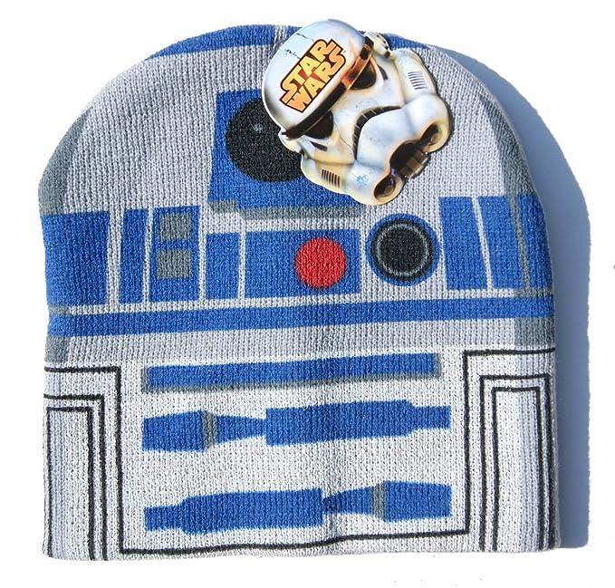 Amazon.com  Childrens  Star Wars R2-D2 Beanie Cap  Clothing 718aa0538a1