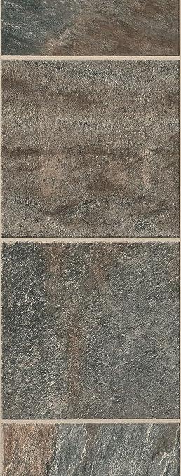 Bruce Hardwoods L6071 Gardenstone Collection Cantabria Stone Laminate Flooring Silver Sage
