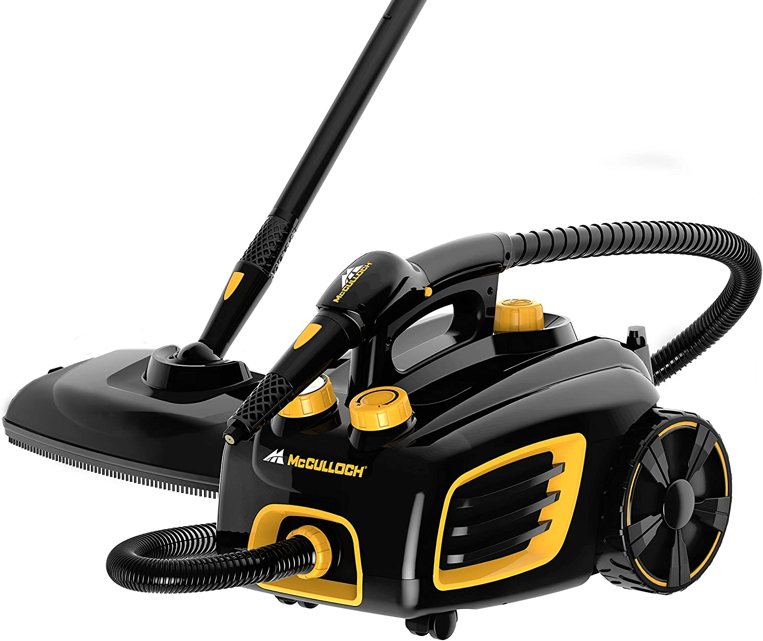 McCulloch Canister Steam Cleaner with 20 Accessories