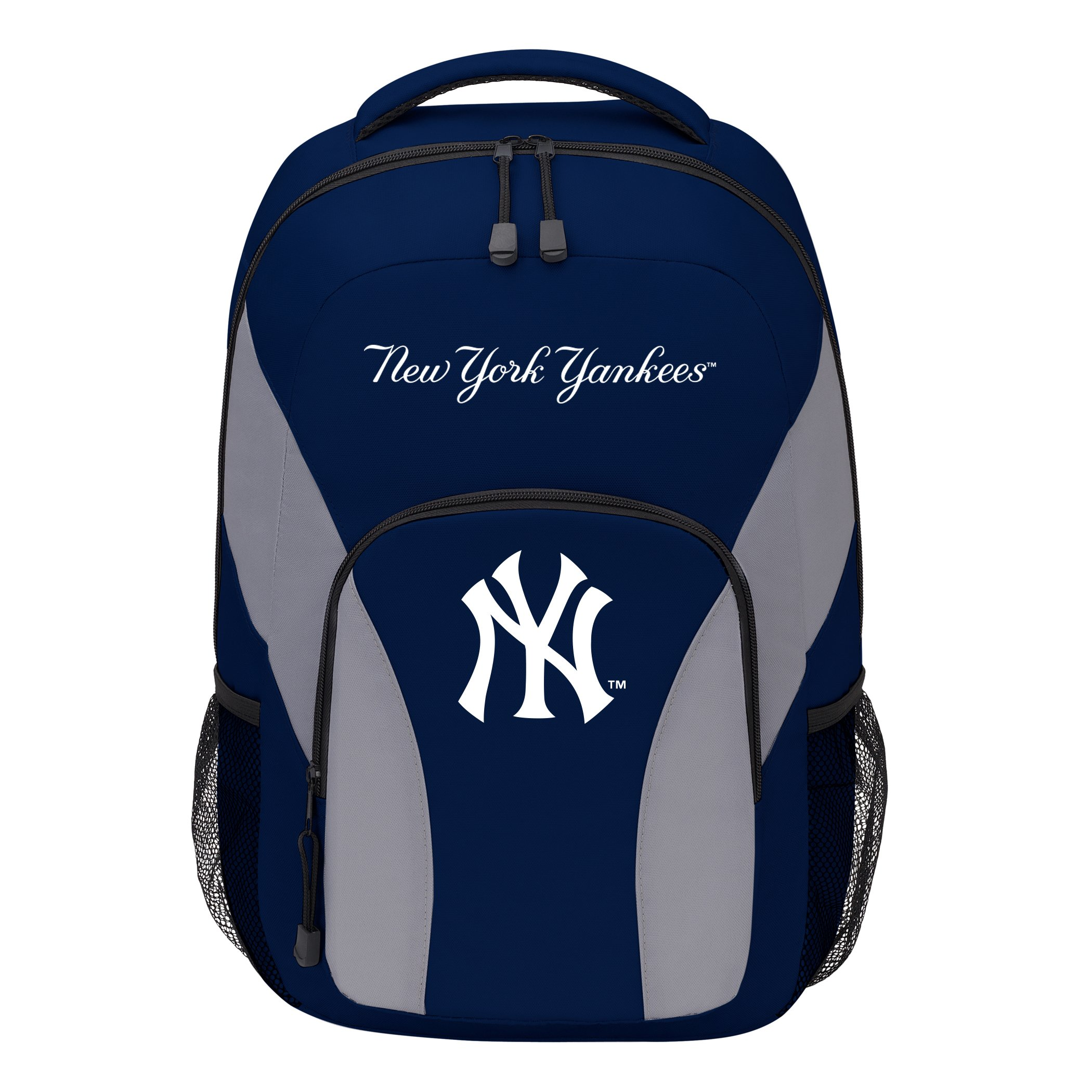 The Northwest Company MLB New York Yankees DraftDay Backpack, 18-Inch, Blue