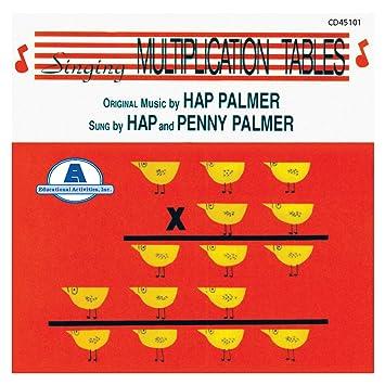 Hap Palmer Singing Multiplication Tables Amazon Music