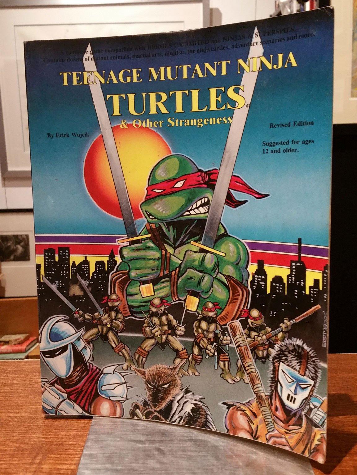 Teenage Mutant Ninja Turtles and Other Strangeness: Erick ...