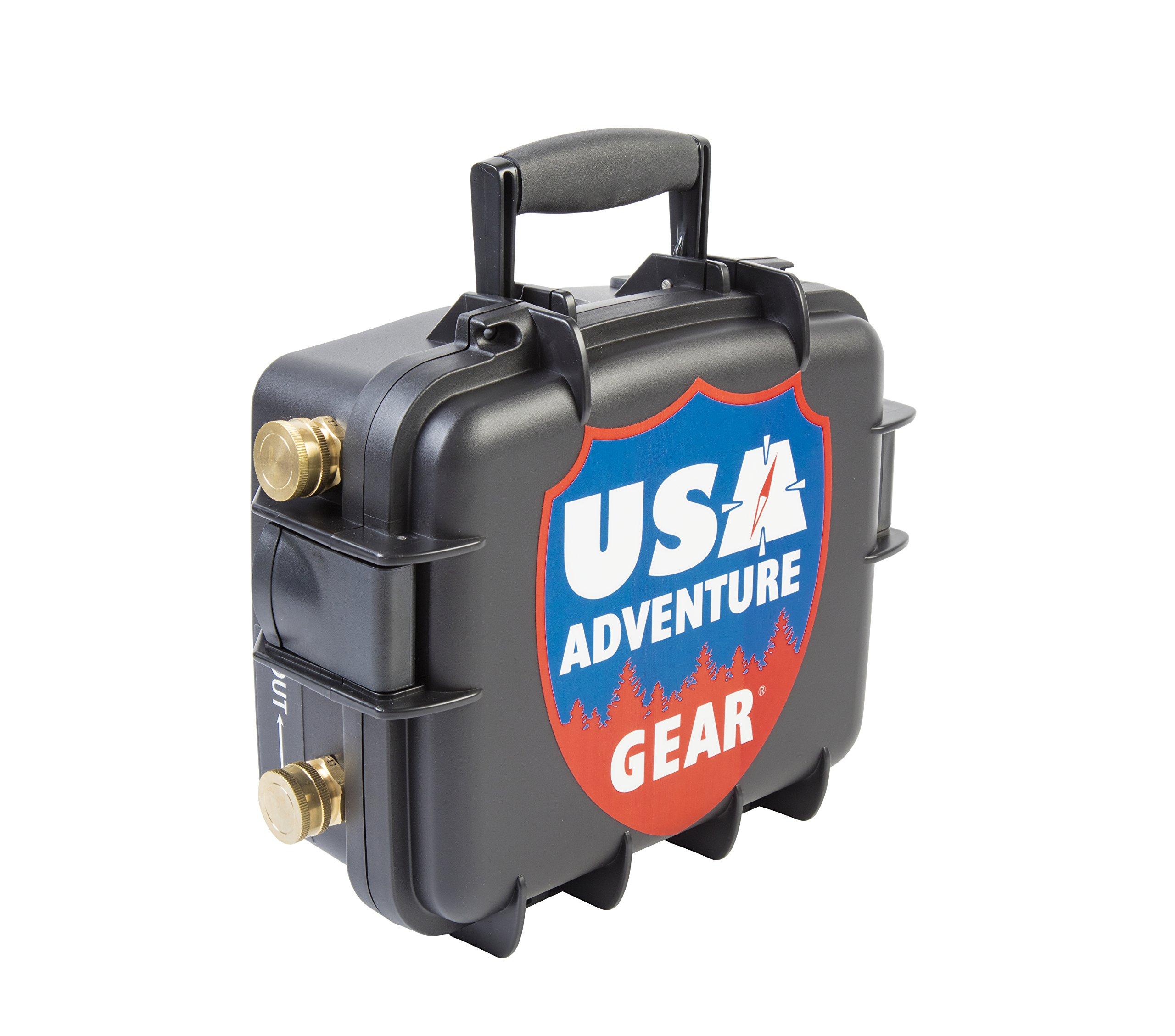 Glacier XE 12v Portable Water Pump featuring USA's 5300 ProGear Professional Grade Pump by USA Adventure Gear (Image #1)