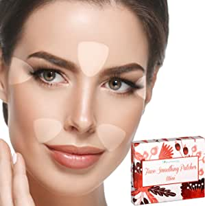 Facial Patches Triangle Wrinkle Remover Strips - 160 Face Tape Smoothing: Forehead Wrinkle Patches, Eye Wrinkle Patches, Wrinkles Around Mouth Treatment - Reusable Triangles Smoothing Wrinkle Patches