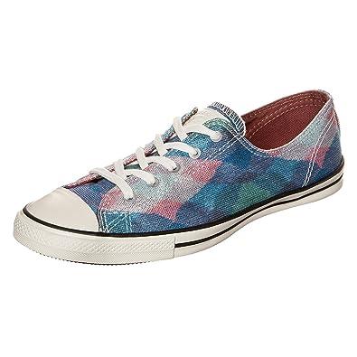 41c3f9b2bc96 Converse X Missoni Women  s Fancy Ox Blue Pink 549693C ...