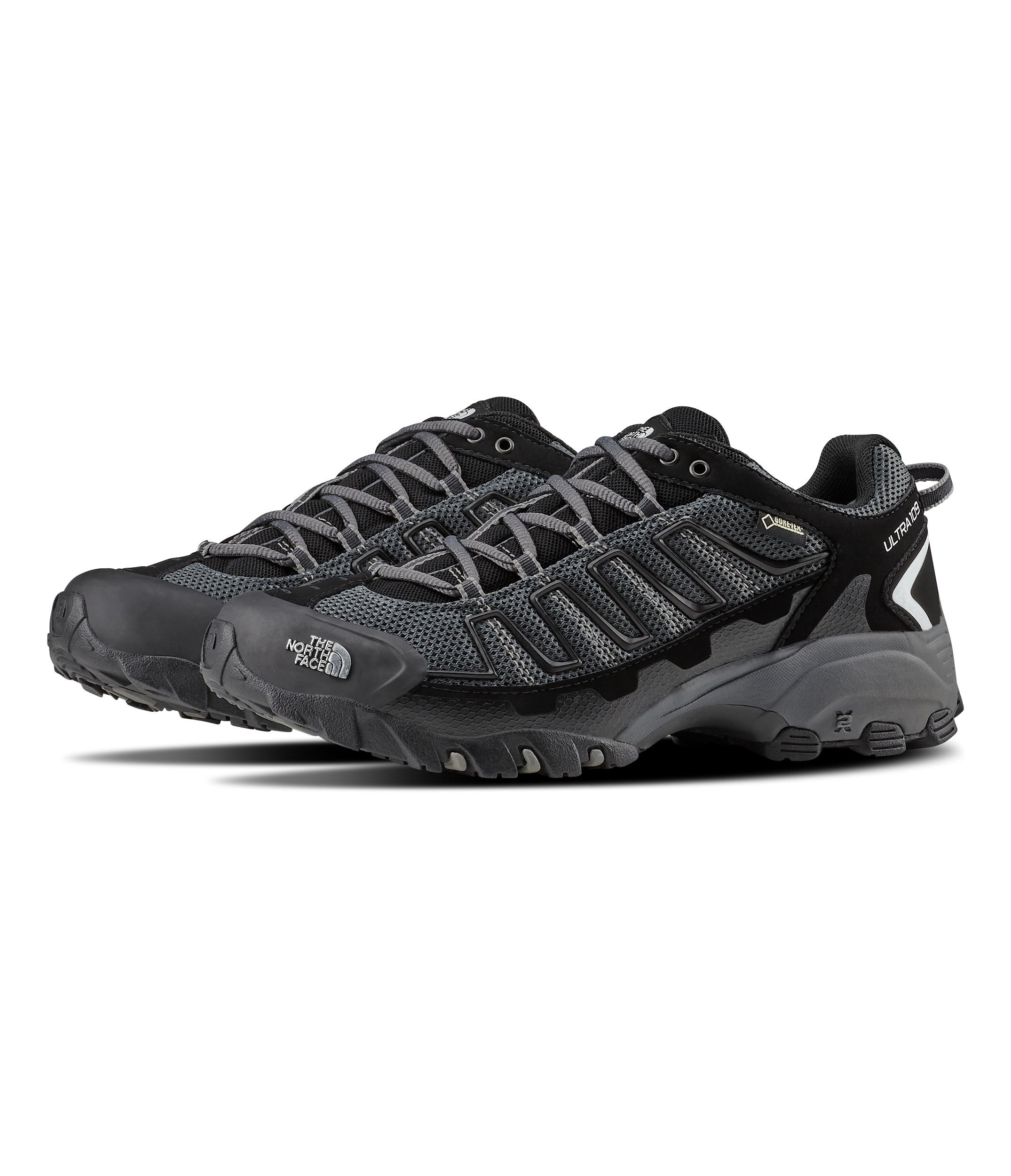 The North Face Ultra 109 GTX Hiking Shoe - Men's TNF Black/Dark Shadow Grey 7 Wide