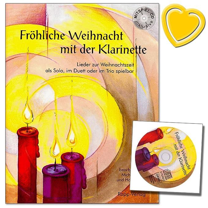 Fröhliche Weihnacht mit der Klarinette - Lieder zur Weihnachtszeit ...