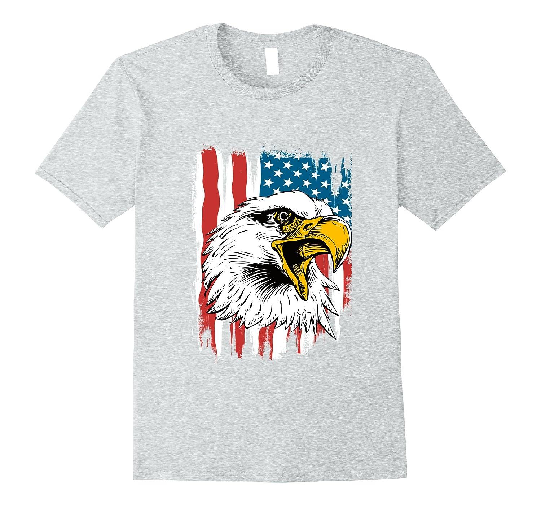 fafcb82eb Patriotic Shirt Eagle American T-Shirt-ANZ - Anztshirt
