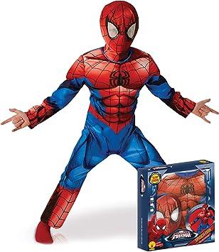 Rubies - Disfraz oficial – Spiderman – Disfraz Deluxe 3D Spiderman ...