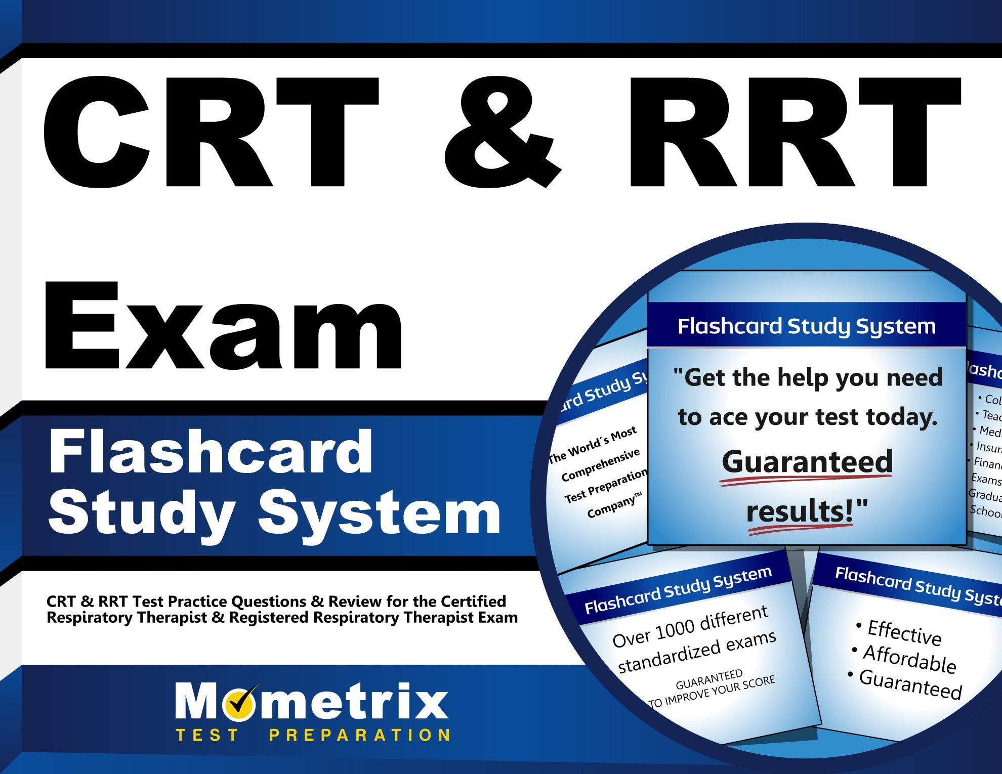 CRT & RRT Exam Flashcard Study System: CRT & RRT Test Practice ...