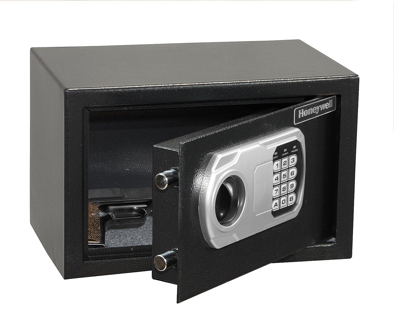 Amazon.com: Honeywell 5101DOJ Approved Small Security Safe with Digital Lock, 0.36-Cubic Feet, Black: Home Improvement