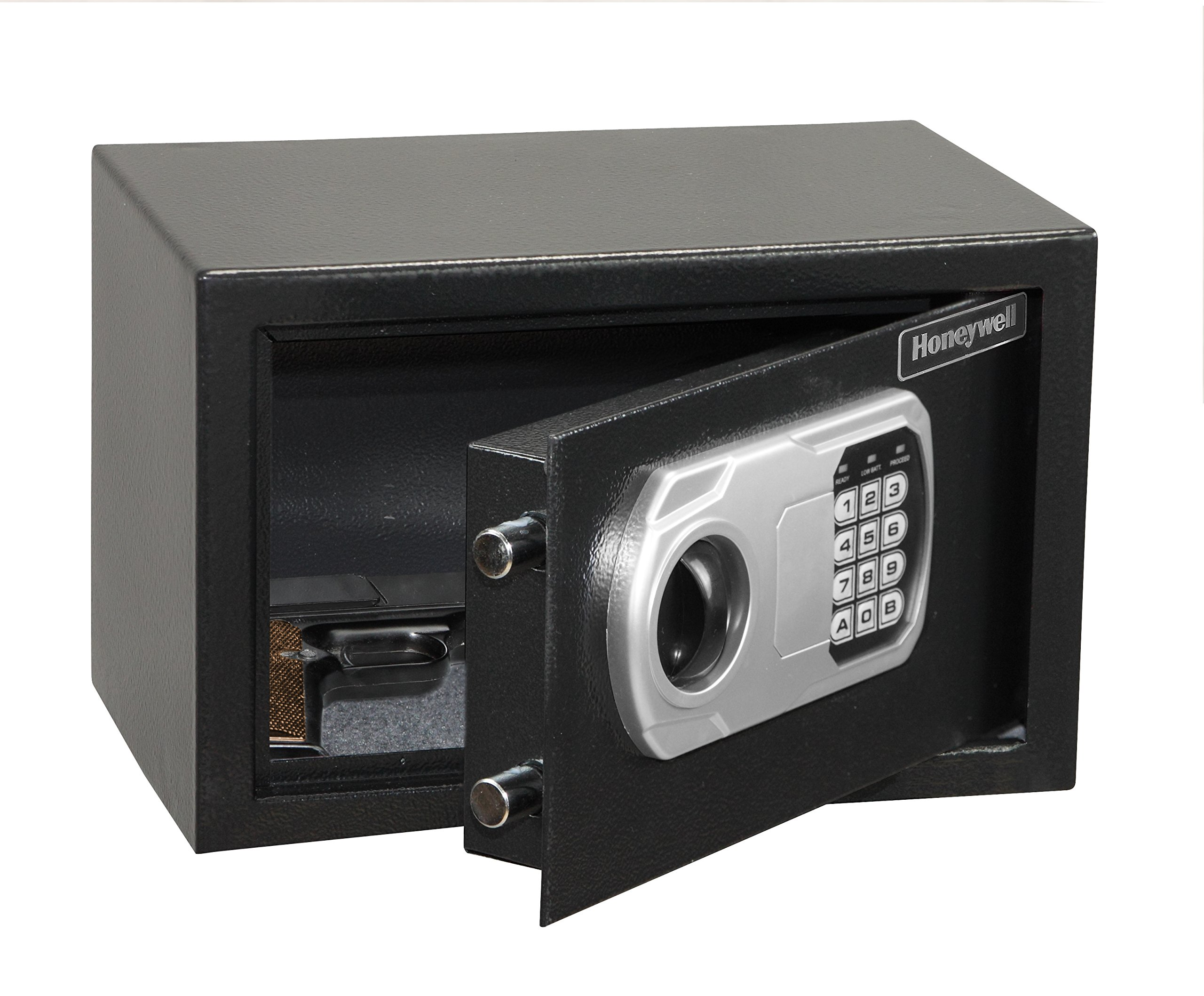 HONEYWELL - 5101DOJ Approved Small Security Safe with Digital Lock, 0.27-Cubic Feet, Black by Honeywell Safes & Door Locks (Image #3)