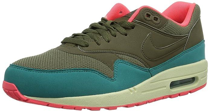 Nike Air Max 1 Essential, Baskets mode homme - Marron (Aun/Gelb)