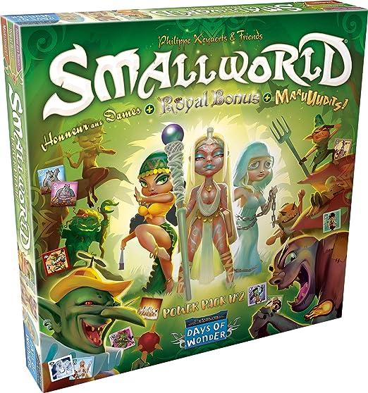 Asmodée – Smallworld – Power Pack N ° 2, sw132, Juegos de Mesa: Amazon.es: Juguetes y juegos