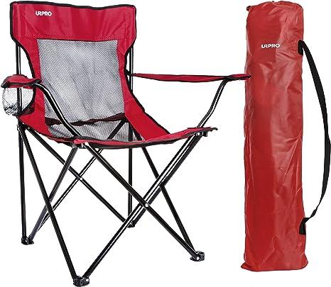 Urpro Sillas Silla Camping Silla Playa Para Camping Senderismo Playa Pesca Silla De Camping Ligera Amazon Es Deportes Y Aire Libre