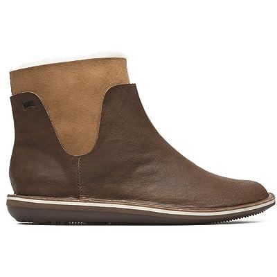Camper Women's Beetle K400239 Sneaker, Brown, 38 M EU (8 US) | Fashion Sneakers
