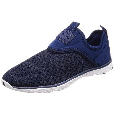 ALEADER 4562320452410 [Leader] Men's Marine Sports Sandals Jogging Shoes Amphibious Ventilation, Navy Black: Home & Kitchen