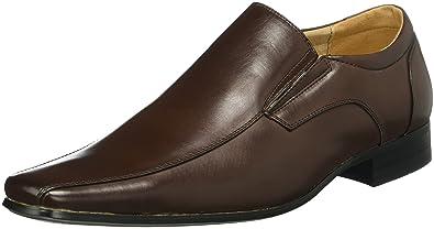 Goor 511001-7, Mocasines Clásicos Hombre, Marrón Oscuro, EU 45: Amazon.es: Zapatos y complementos