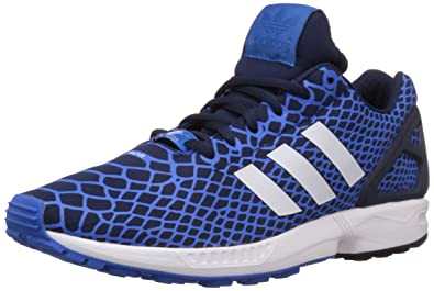 adidas ZX Flux Techfit, Sneakers Basses Homme, Bleu (Bluebird/Collegiate Navy/