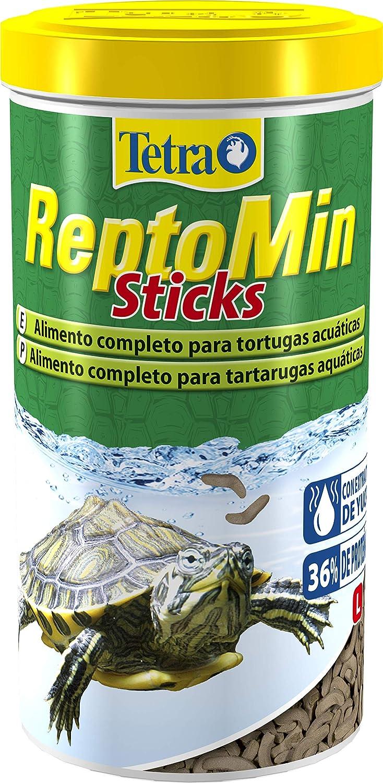 Tetra ReptoMin Sticks 1 L - Alimento completo para tortugas acuáticas