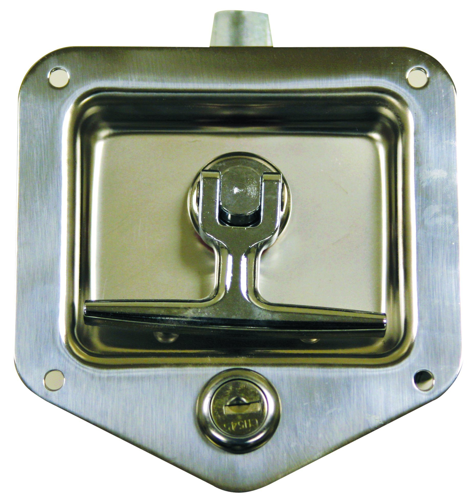 Buyers Products L8825 T-Handle Latch (Latch,T-Handle,Ss,Double Point)