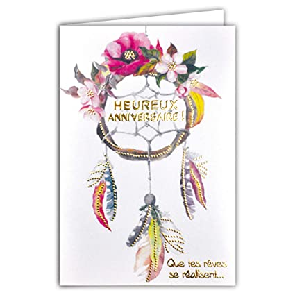 afie 69 - 4041 tarjeta feliz cumpleaños purpurina diseño ...