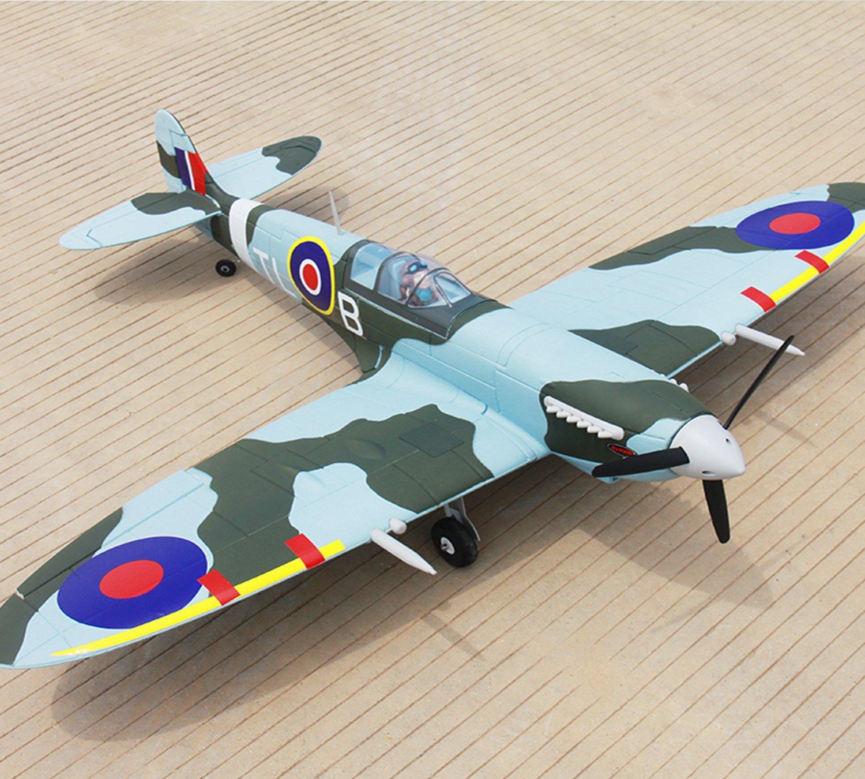 Amazon com: DYNAM RC Airplane Spitfire V2 1200mm Wingspan