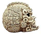 Ebros Gift Aztec Quetzalcoatl Snake Cranium Skull