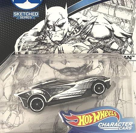 Harley Quinn DC Comics Sketched Character Cars 1:64 Hot Wheels FLH38 DKJ66