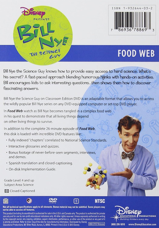 Amazon Bill Nye The Science Guy Food Web Classroom Edition