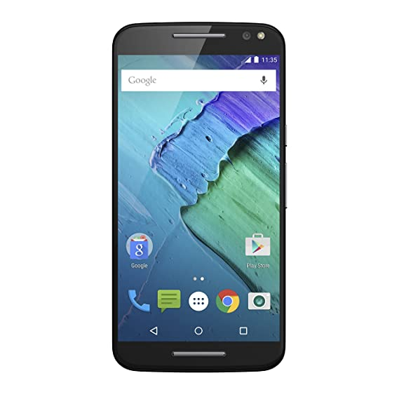 Moto X Pure Edition Unlocked Smartphone, 32GB, 21 MP, Black (U.S. Warranty