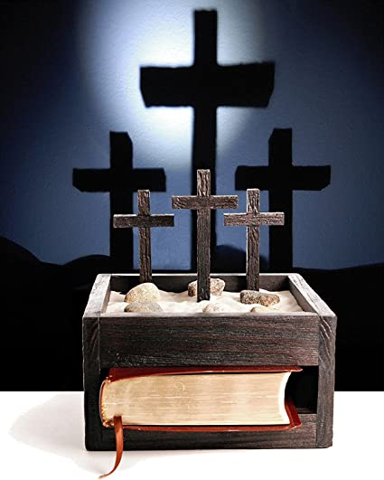 Amazon wooden faith box with led light unique religious gift unique religious gift shine crosses up on wall negle Choice Image