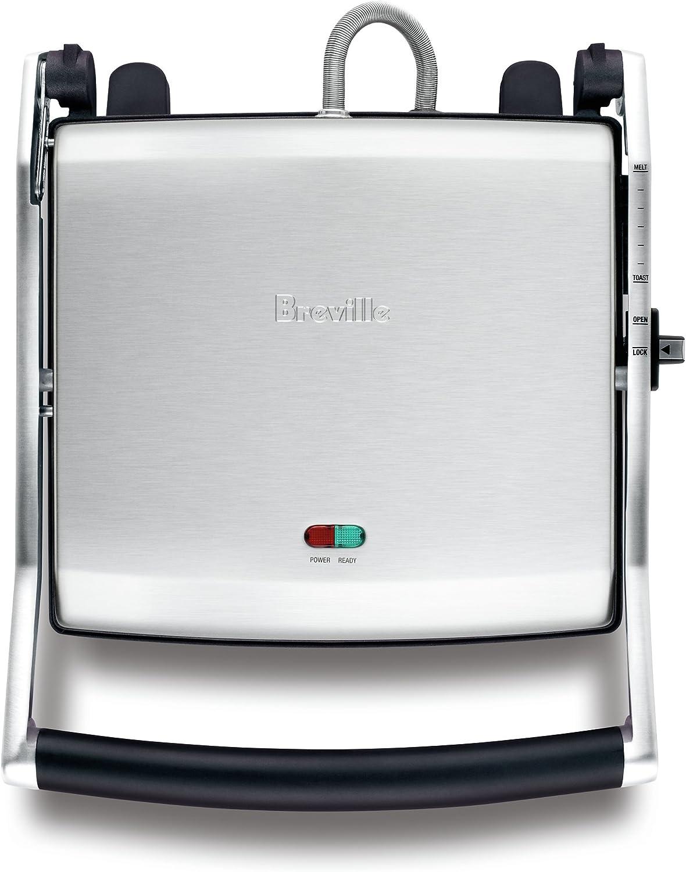 Breville Bsg540Bss The Toast & Melt 4 Slice Sandwich Press
