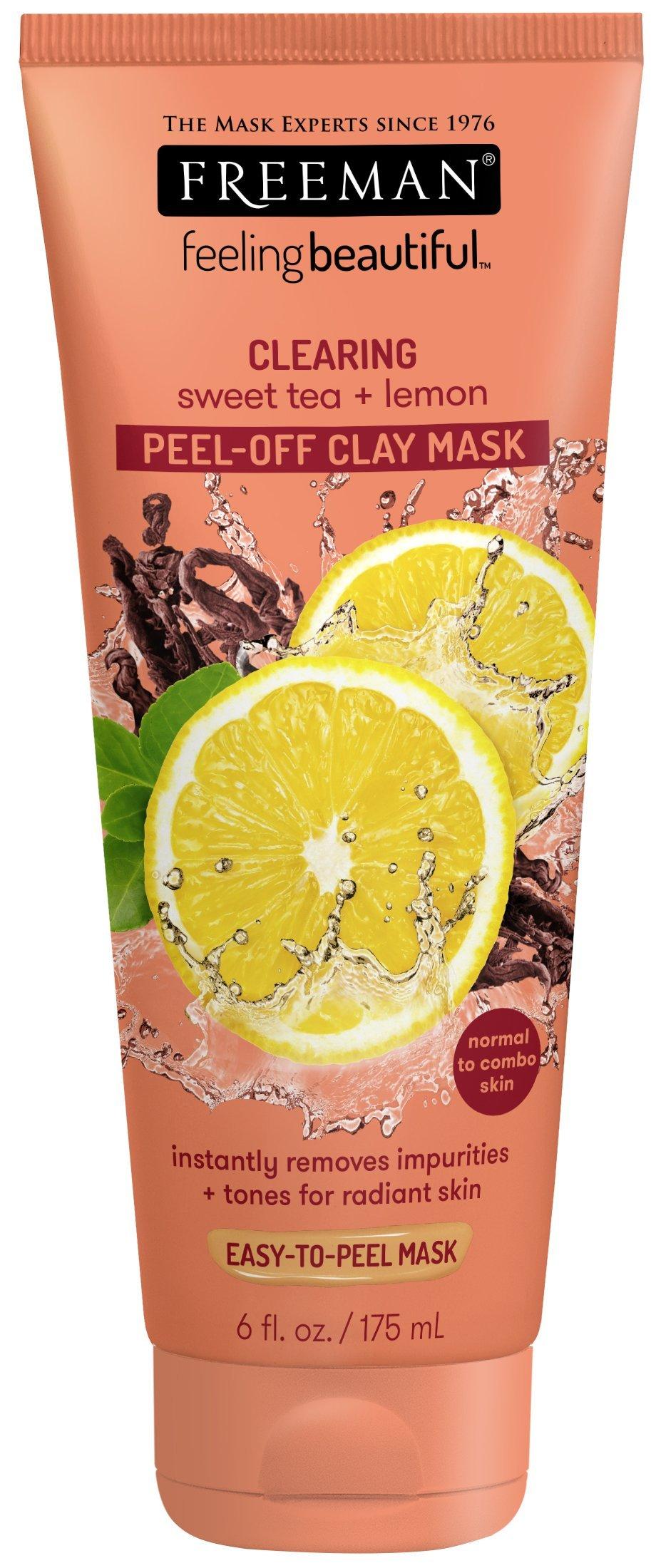 Freeman Facial Mask Sweet Tea & Lemon Peel Away 6 oz.