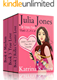 Julia Jones - The Teenage Years: Boxed Set - Books 2, 3 and 4: Book 1 is FREE