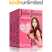 Julia Jones - The Teenage Years: Boxed Set - Books 2, 3 and 4: Book 1 is available separately